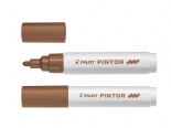 Brown Medium Pilot Pintor Paint Marker